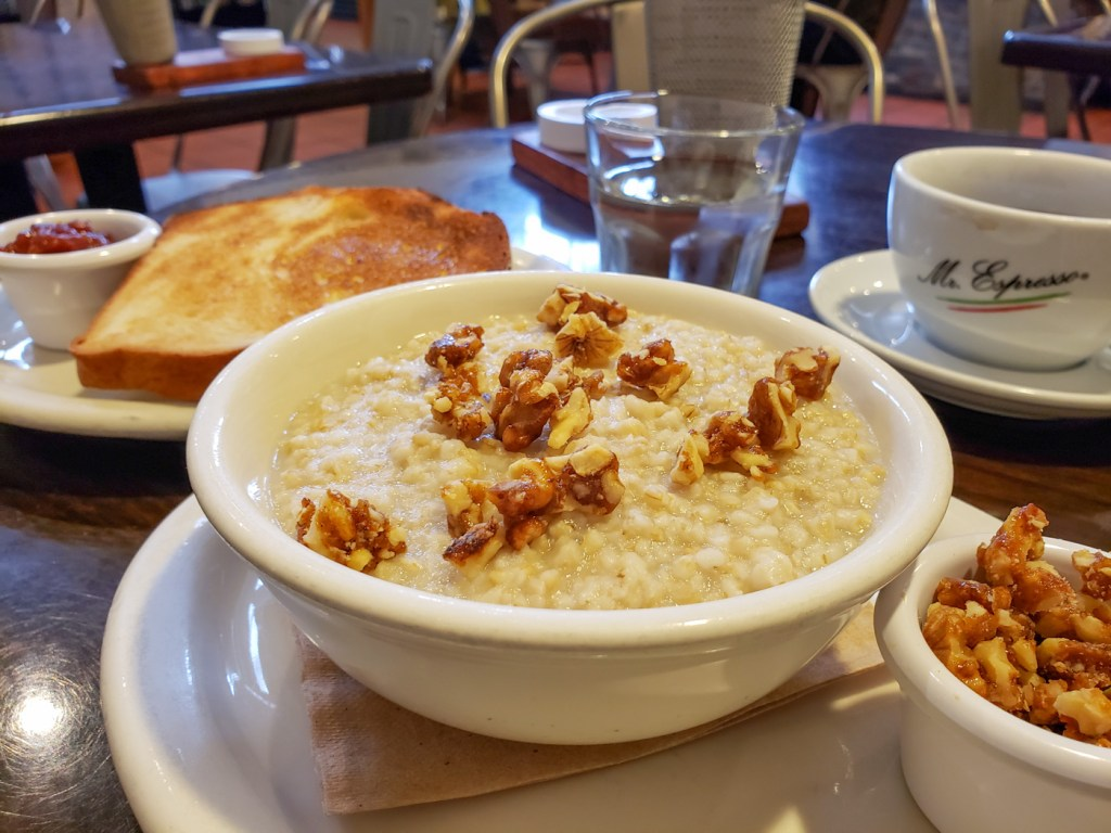 Anson Mills Stone-Cut Oatmeal at Carmel Belle