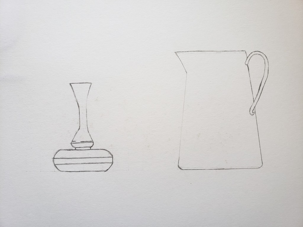 Vase and Pitcher