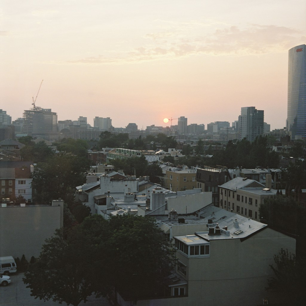 Philly Sunset - Cropped