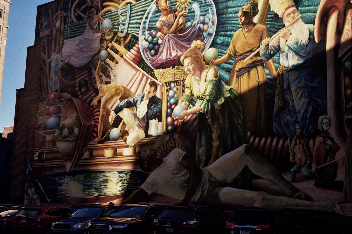 Philadelphia Muses by Meg Saligman