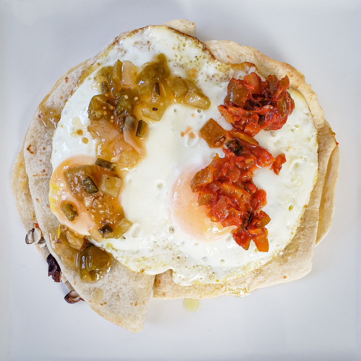 Quesadillas with Eggs