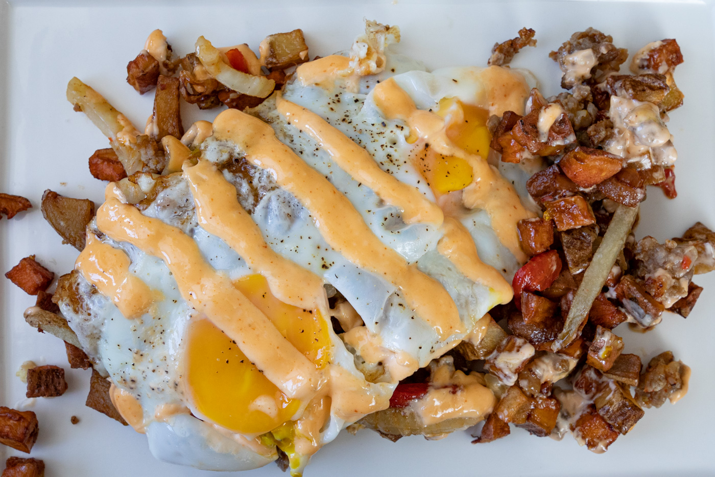 Italian Sausage Hash from Ants Pants Cafe