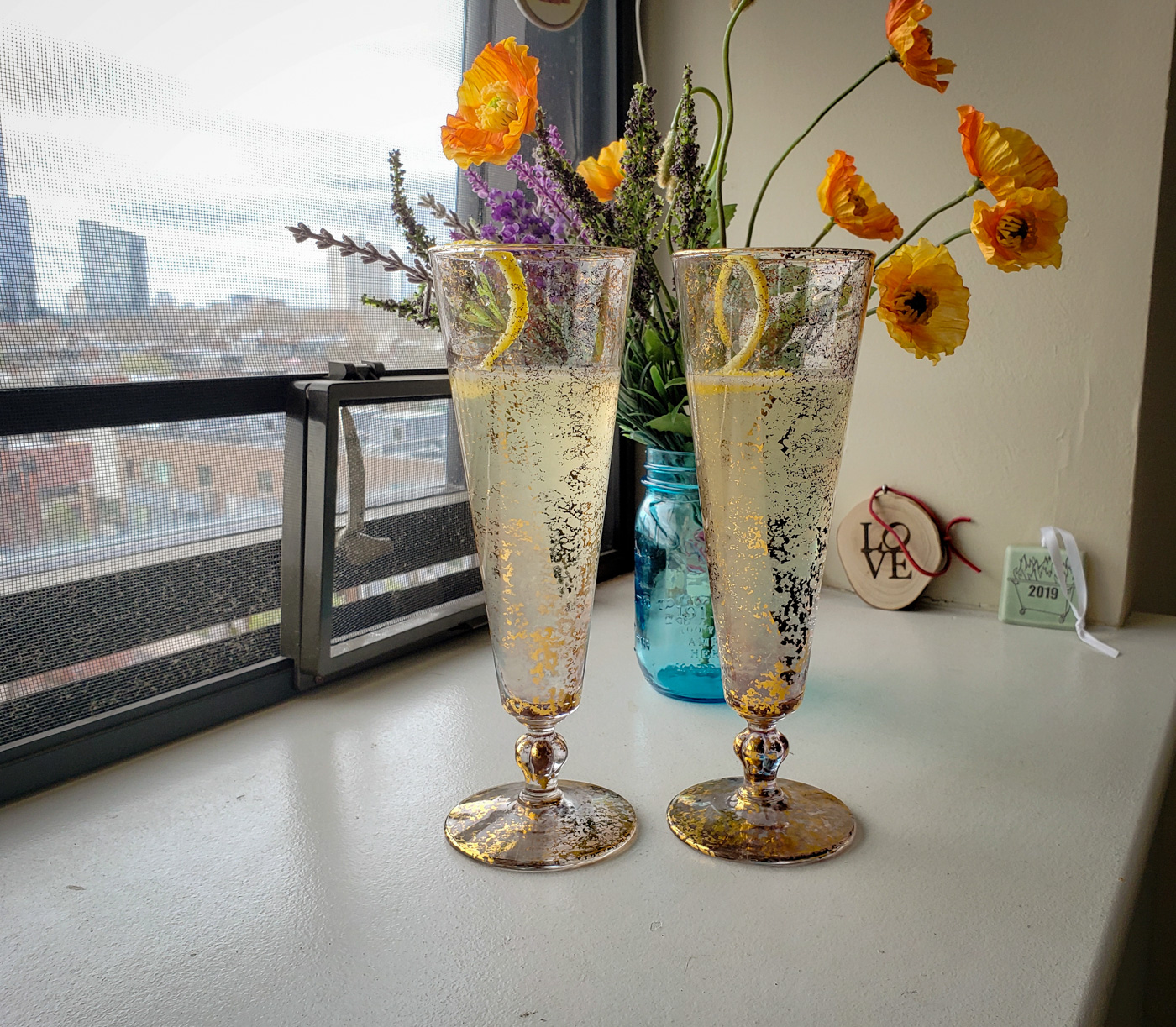 End of Work Week French 75s