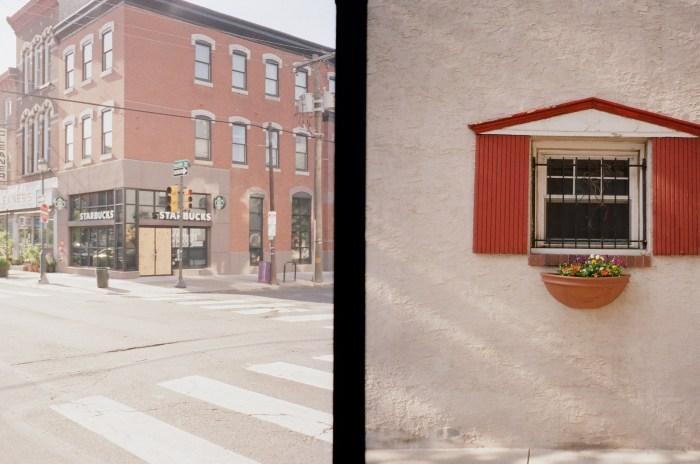 Starbucks and Window