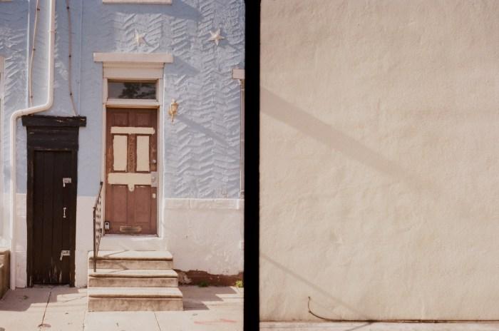 Door and Beige Wall