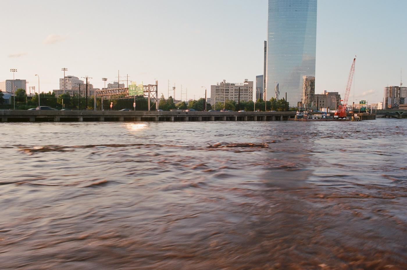 Flooded Schuylkill River