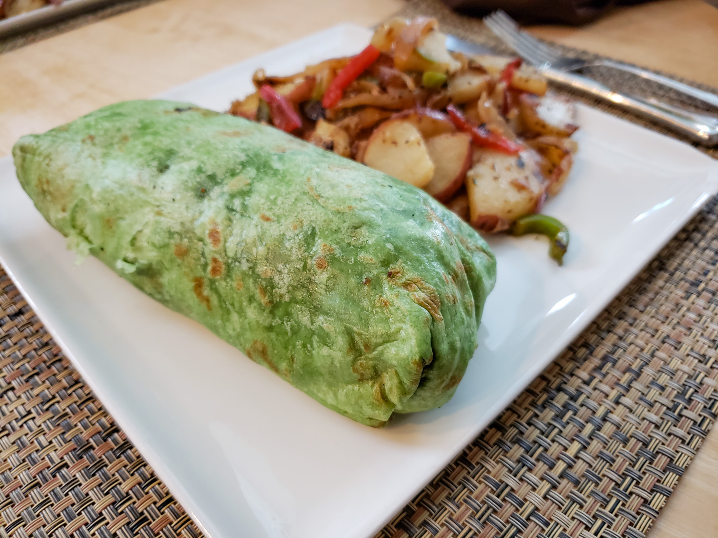 Vegan Burrito from The Gold Standard Cafe