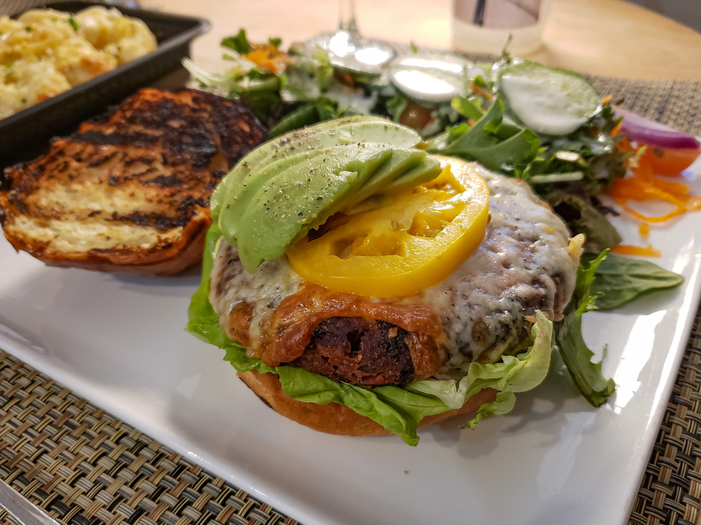 Veggie Burger from Rex 1516