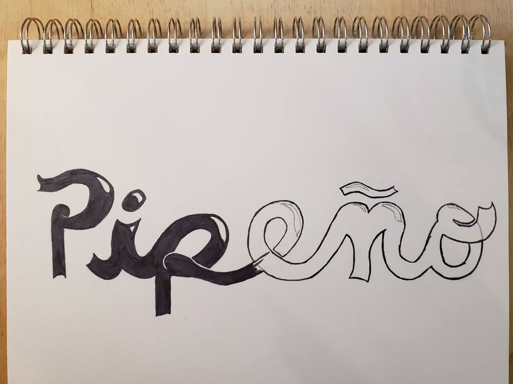 Pipeño in Progress