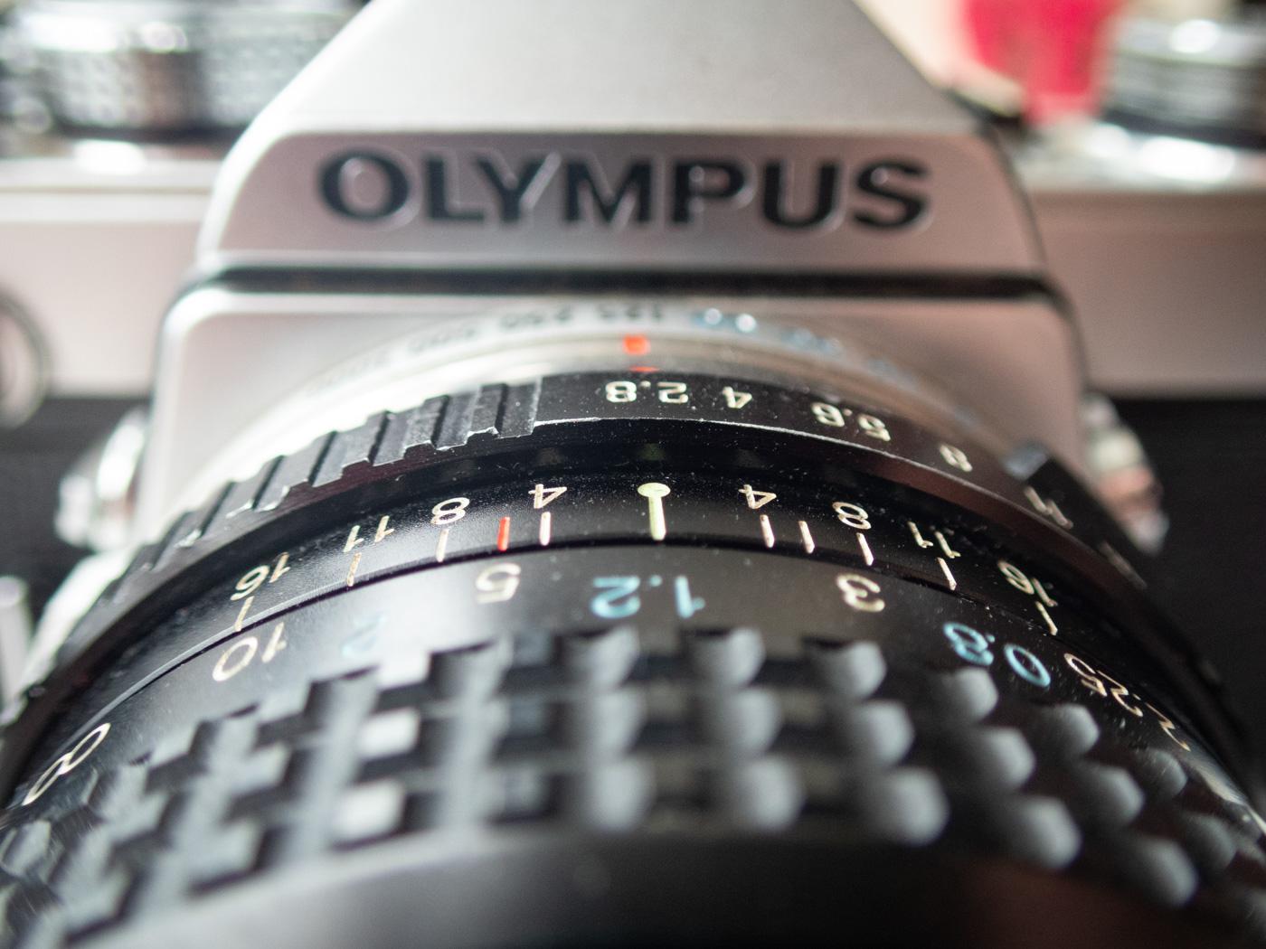 Macro Olympus OM-1