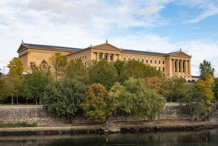 Philadelphia Museum of Art in Autumn