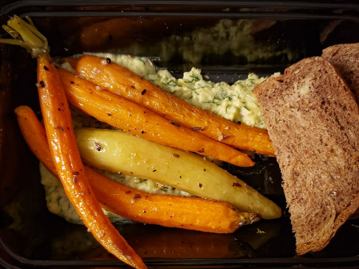 Pastrami Spiced Little Carrots from Vedge