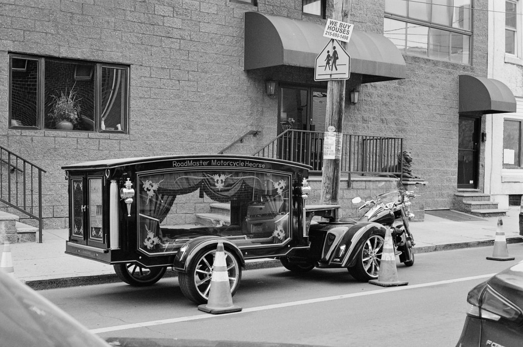 RoadMaster Motorcycle Hearse