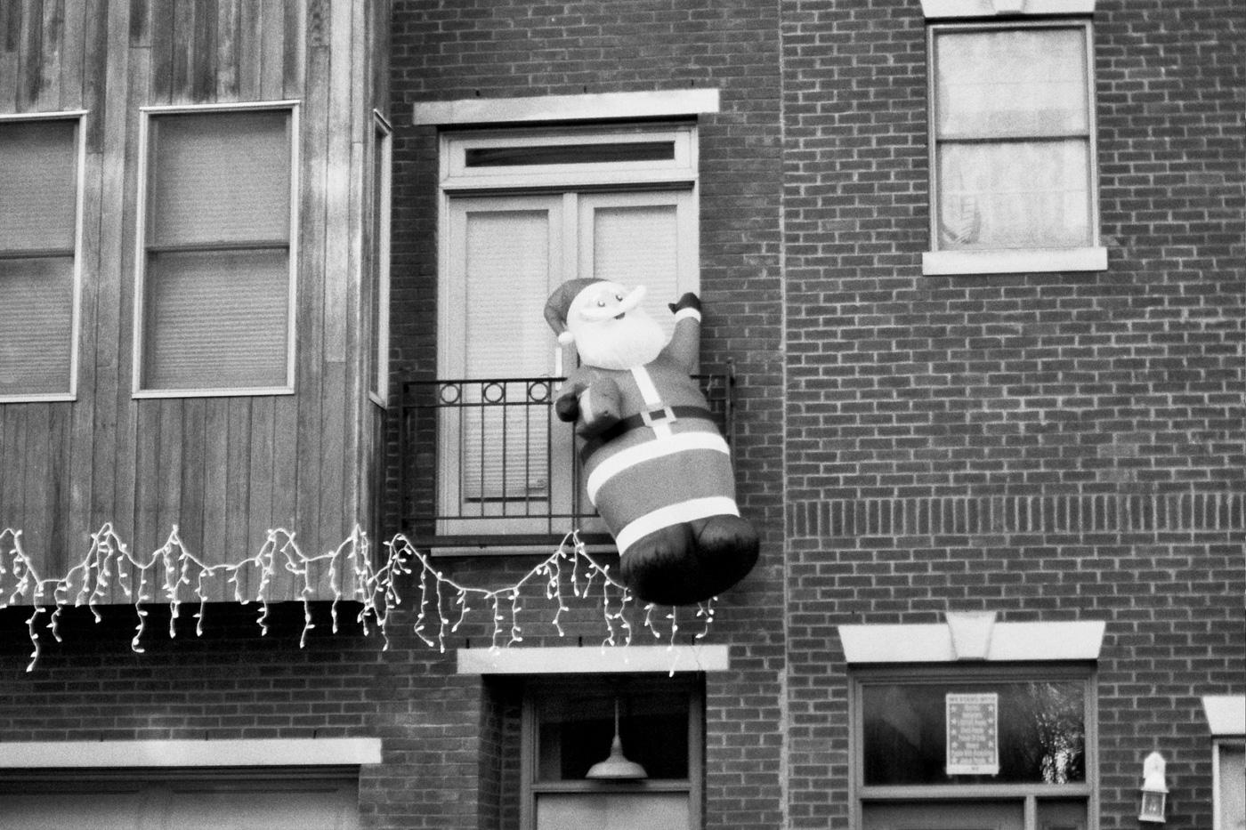 Floating Santa