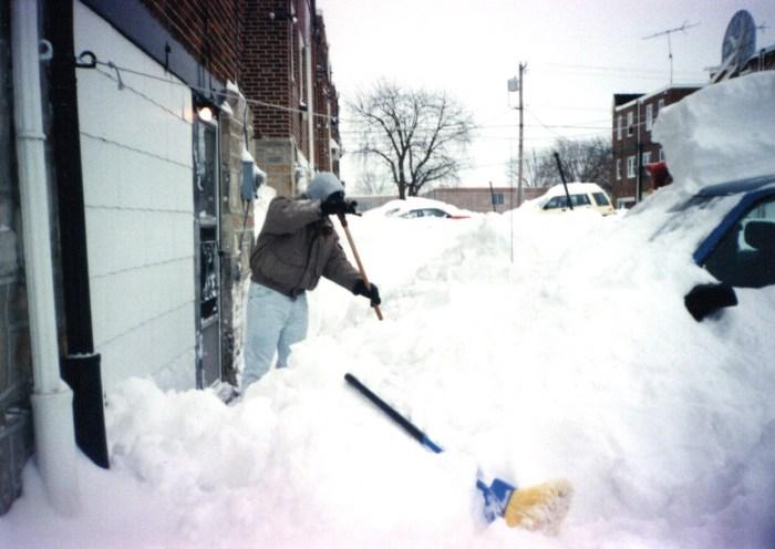 Philadelphia Snow January 1996
