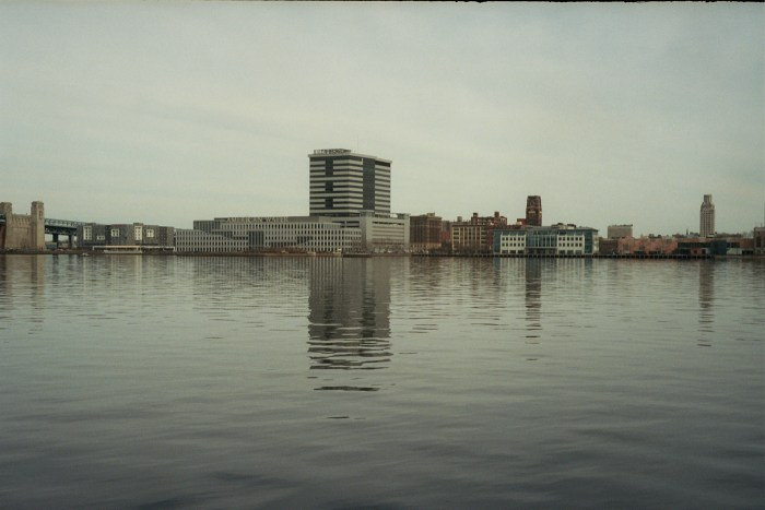 Camden across the Delaware River
