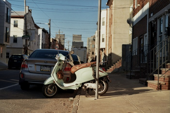 Pale Green Scooter