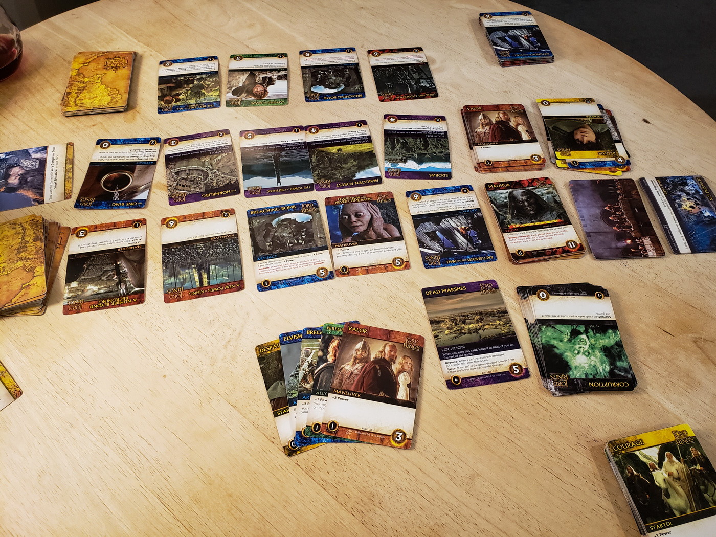 The Two Towers Deck Building Game