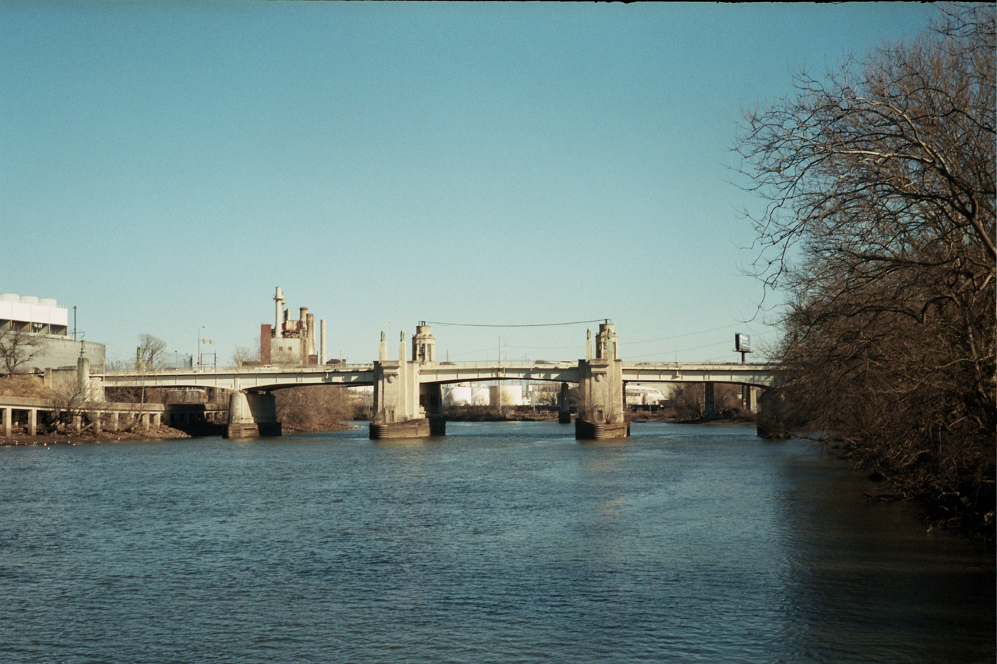 View of the 34th Street Bridge