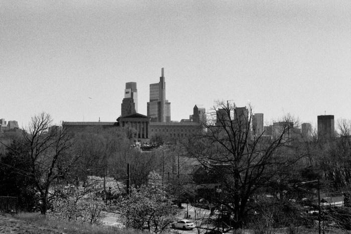 Philadelphia Museum of Art and Philadelphia Skyline