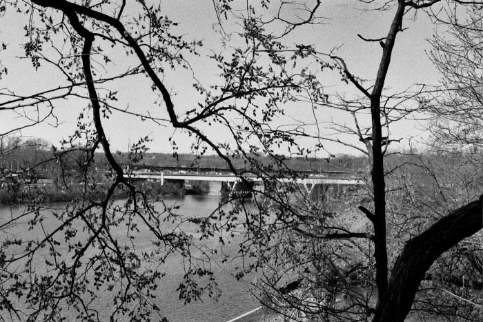 Girard Avenue Bridge as Seen from Lemon Hill