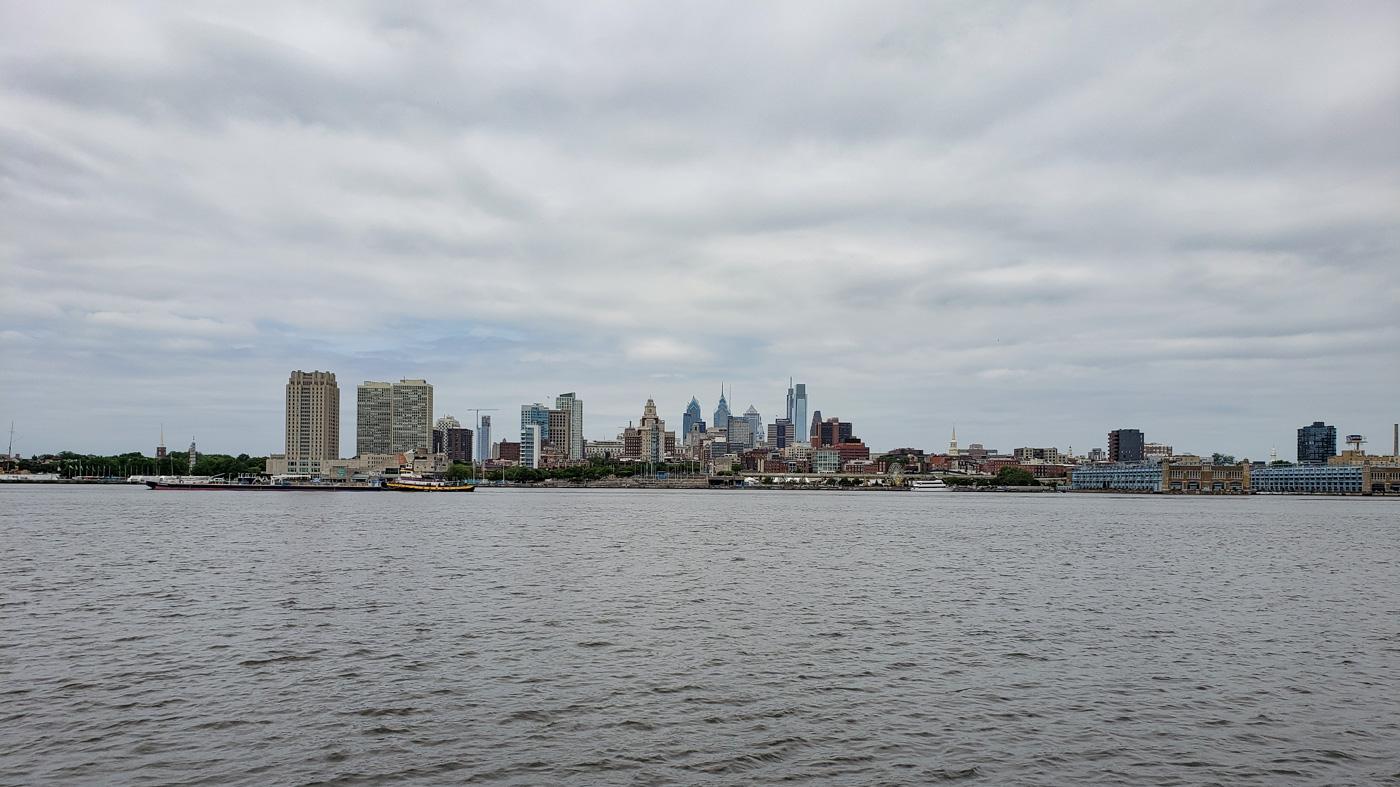 Philadelphia Skyline as Seen from the Camden Waterfront