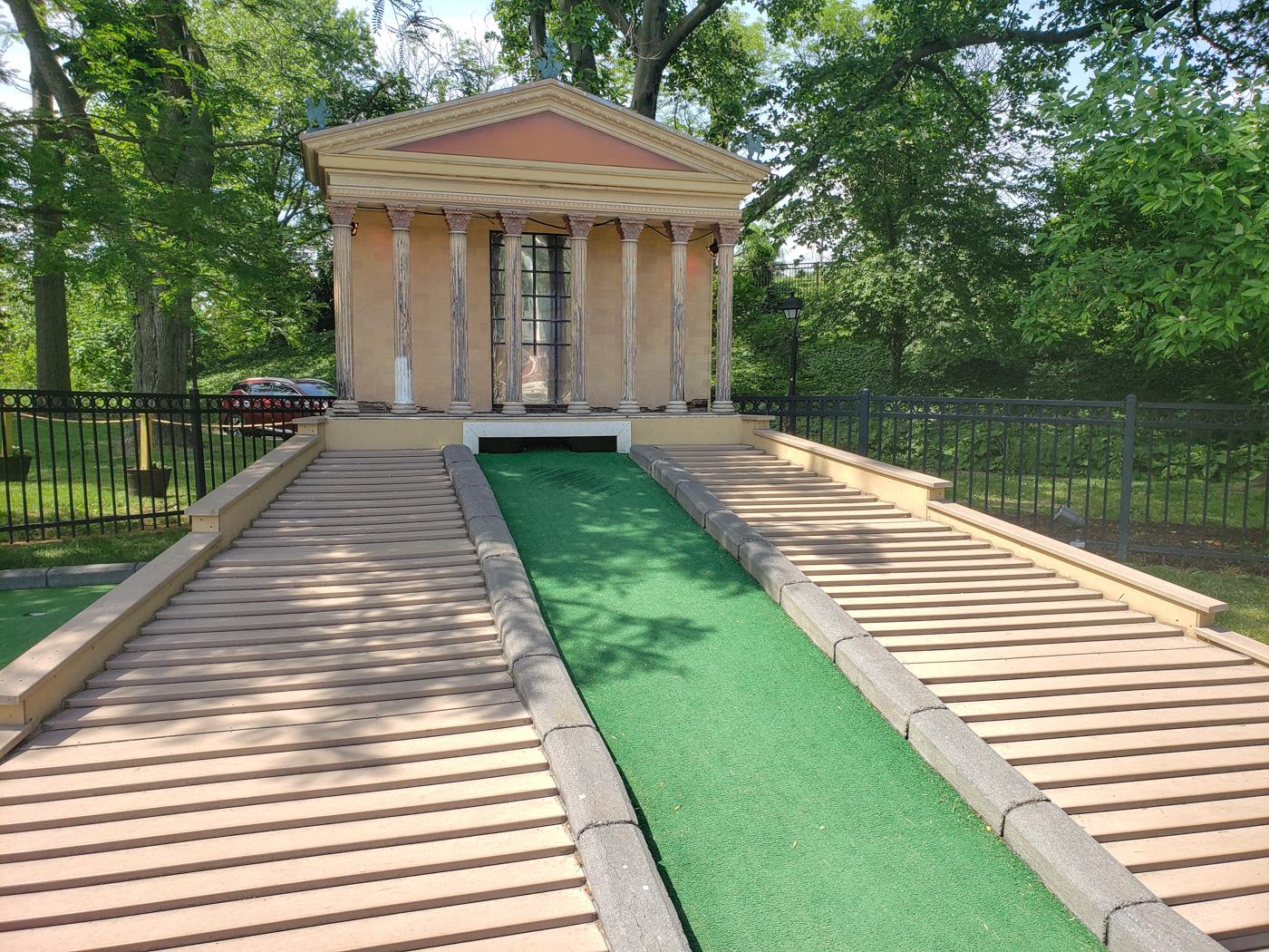 Philadelphia Museum of Art at Franklin Square Mini-Golf
