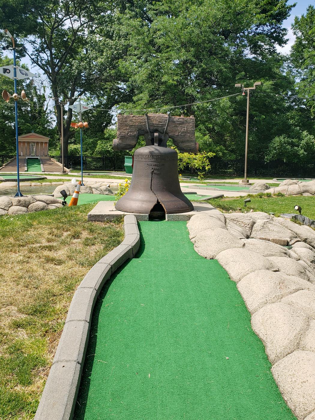 Liberty Bell at Franklin Square Mini-Golf