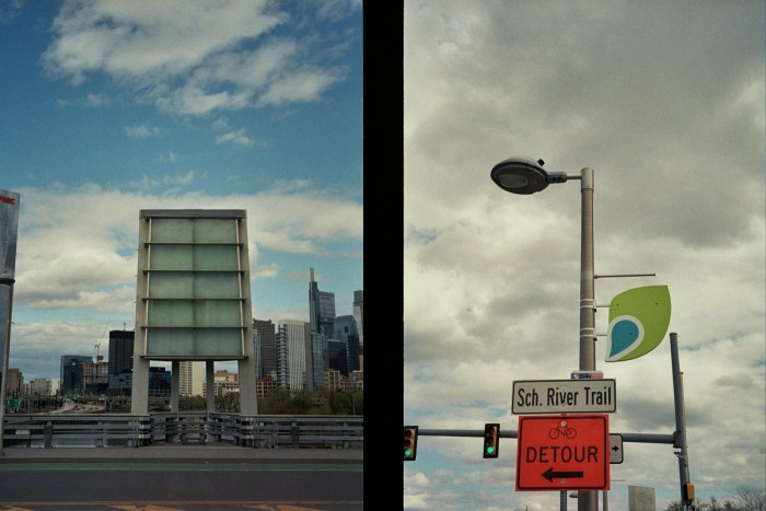 South Street Light and Sch. River Trail