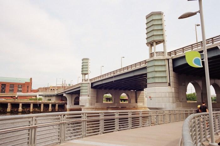 Schuylkill Boardwalk and South Street Bridge