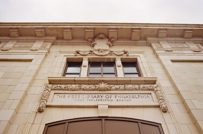 The Free Library of Philadelphia: West Philadelphia Branch