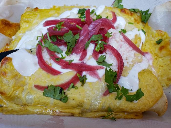 Enchiladas del Verano at Tio Flores