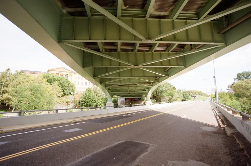 Under the Spring Garden Street Bridge
