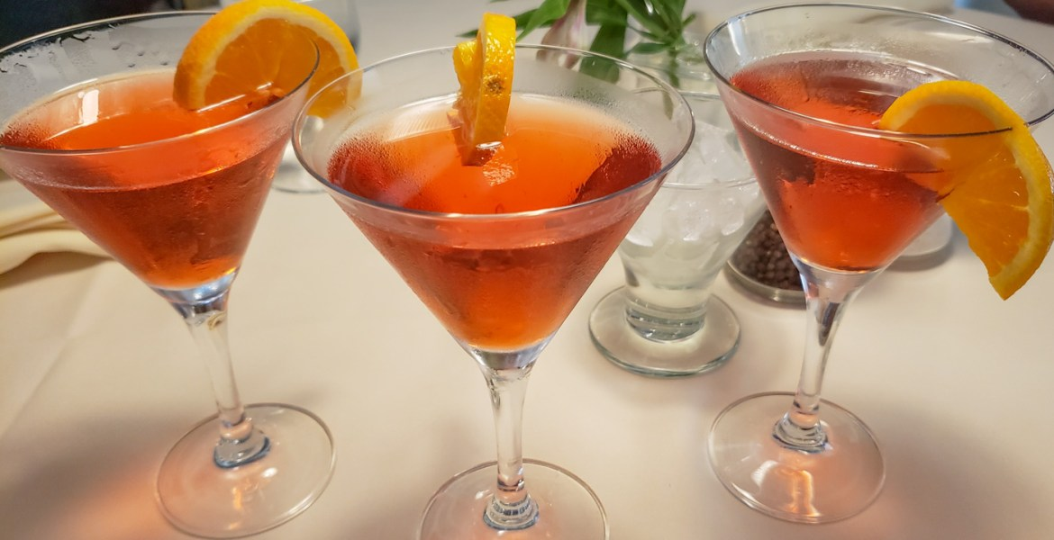 3 Negronis at Moonstruck