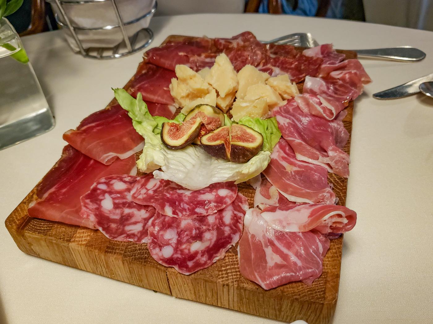 Salumi, Cheese, and Figs at Moonstruck
