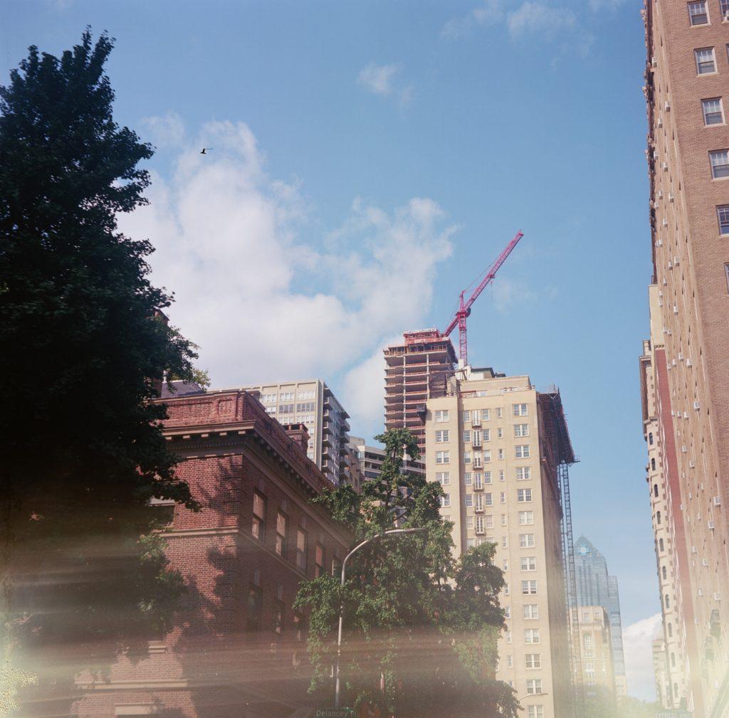 The Laurel under Construction