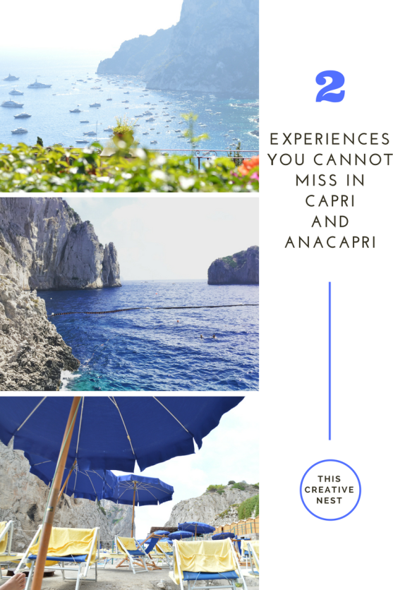 Experiences You Cannot Miss in Capri and Anacapri