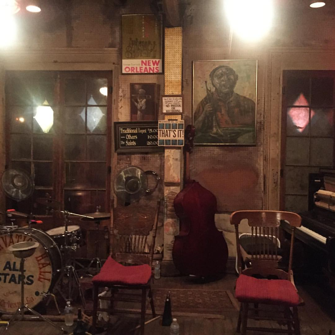 This Creative Nest Preservation Hall New Orleans Jazz