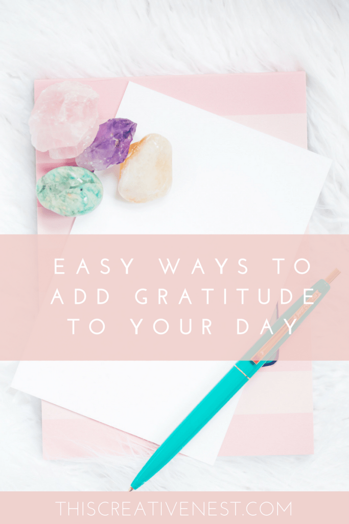 Easy Ways to Add Gratitude to Your Day