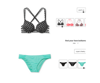 Cruise Packing List - This Creative Nest - Mix and Match Swimsuit