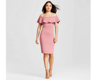 Cruise Packing List - This Creative Nest - Formal Night Dress - Ruffle Pink