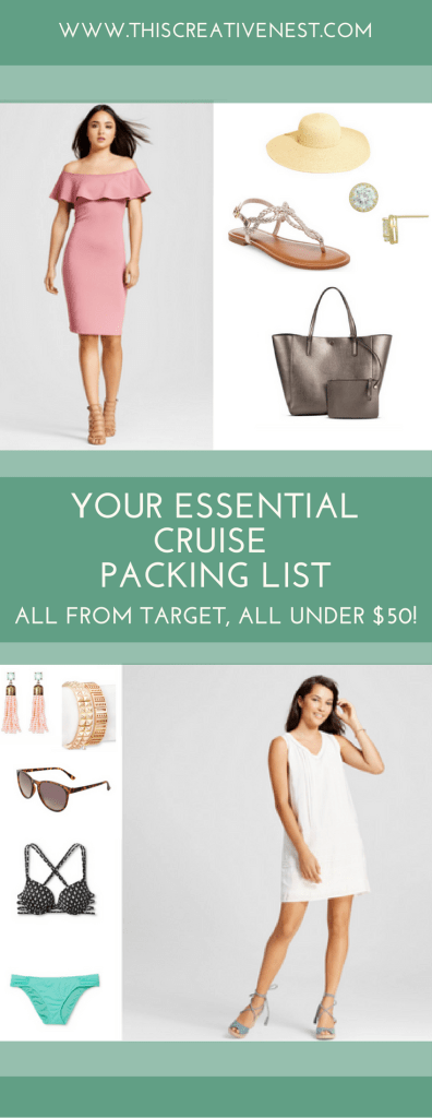 Cruise Packing List from Target (1)