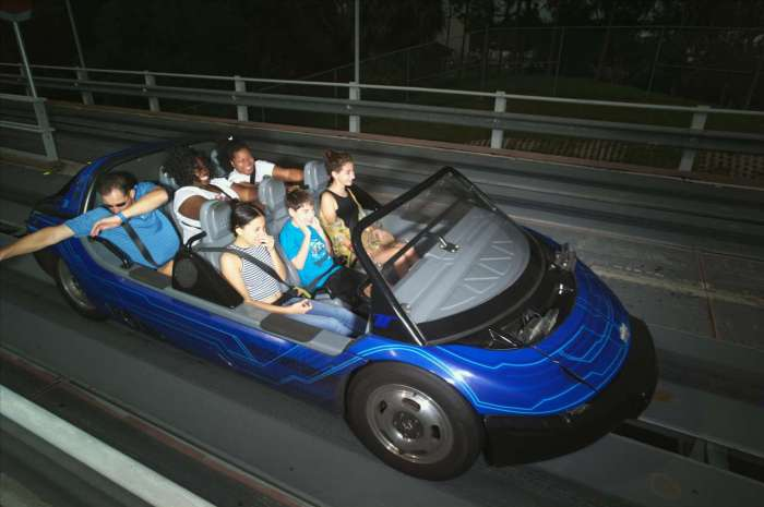 Test Track experience Epcot