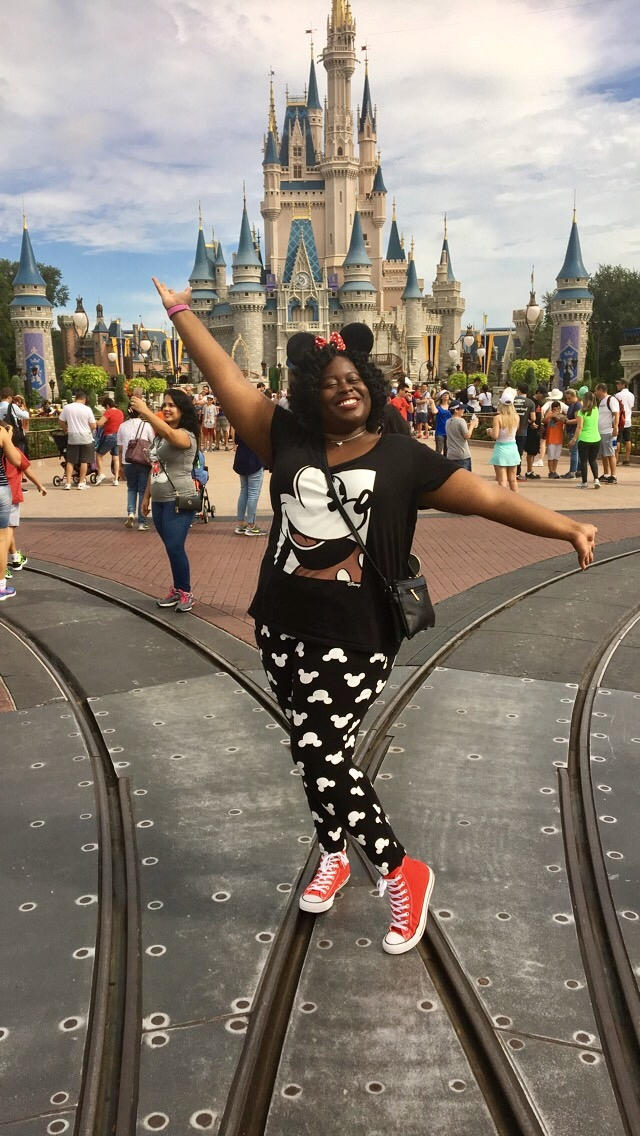 How going to Disney world taught me to give up control…