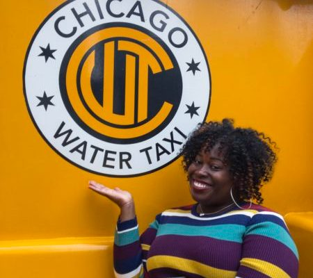 Solo travel in Chicago Water Taxi