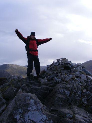 mountain top achieve success