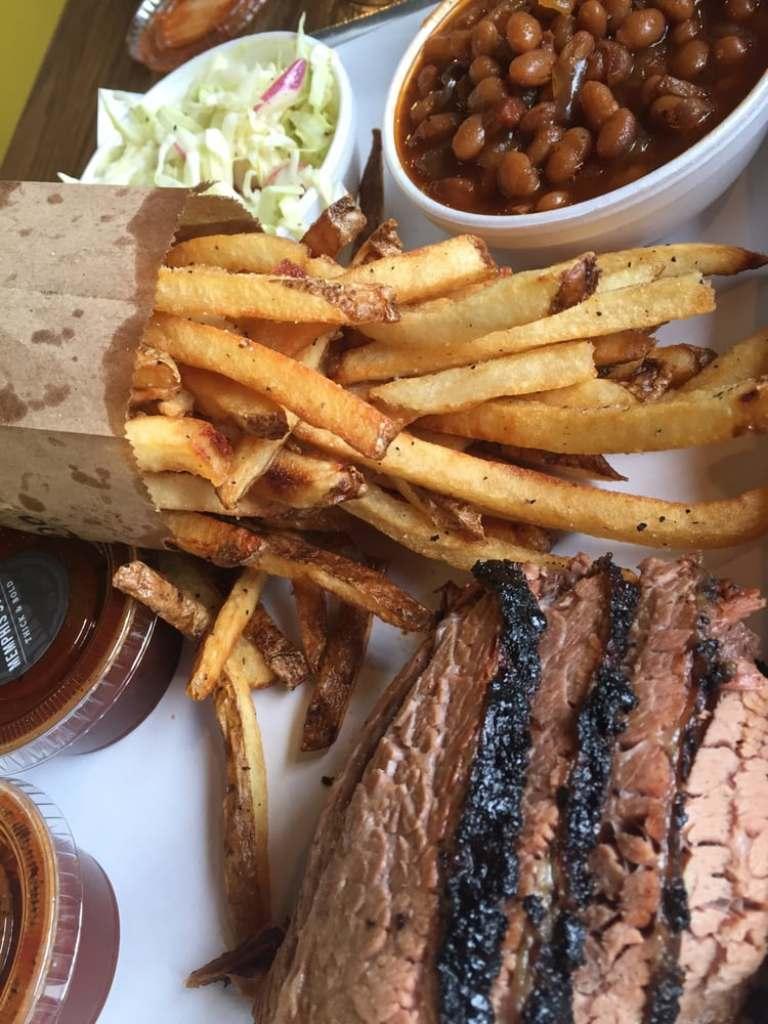 Smoque BBQ brisket | thisdarlingworld.com