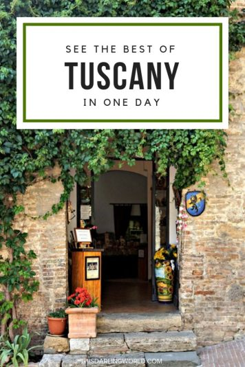 See the Best of Tuscany in One Day