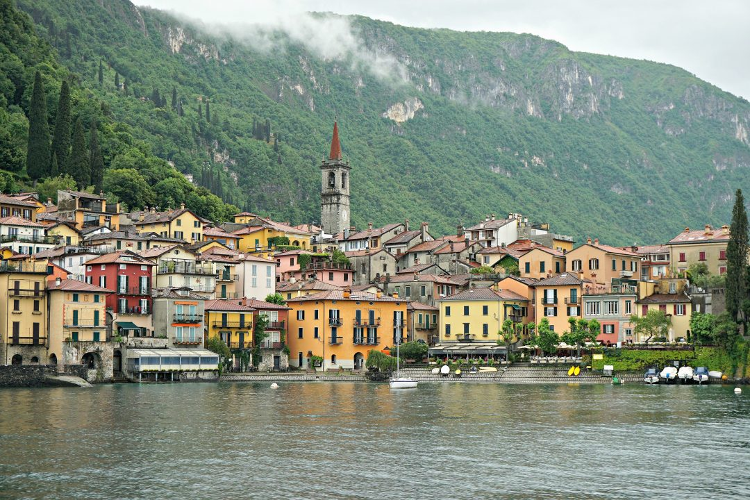 Arriving to Varenna by ferry