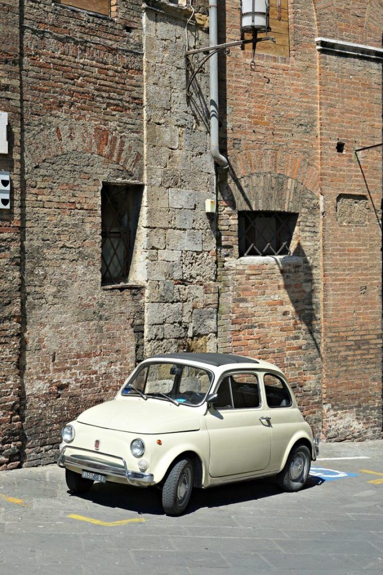 Streets of Siena, Italy